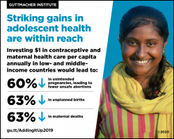 Striking gains in adolescent health are within reach