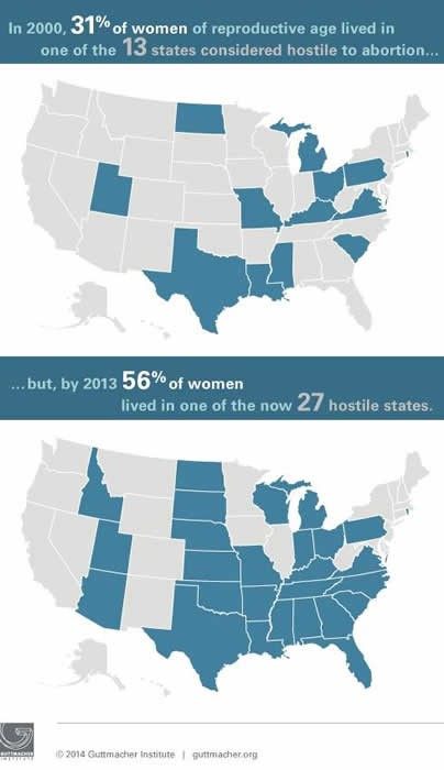 Laws Affecting Reproductive Health And Rights State Policy - Map of underage abortion laws in the us 2016
